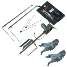Nitehawk Heavy Duty Pigeon Magnet 2 Arm Rotary Machine Kit Inc Hunting Decoys