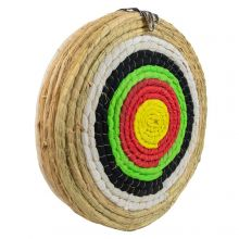 Nitehawk Traditional Round Solid Straw, 5 Layer 50cm Natural Archery Target