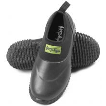 Michigan Black Neoprene Garden Boots Slip On Waterproof Outdoor Shoe