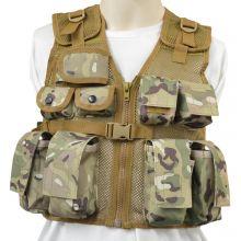 Nitehawk Kids Assault Vest - MULTIUSE CAMO