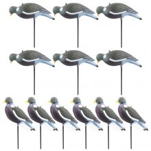 Nitehawk V2 Premium Anti-UV Painted Pigeon Shooting/Hunting Decoy Set + Bag