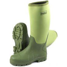 Michigan Neoprene Fishing Boots - GREEN SIZE 7