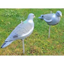 2 x Nitehawk Pigeon Decoy - FULL BODY PAINTED