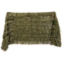 Nitehawk Woodland Camo Ghillie Net, Hunting Shooting Hide Netting, 4m x 1.5m
