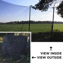 Nitehawk Clear View Camo Hunting Net Hide 4m x 1.5m Pigeon Decoy Shooting Net
