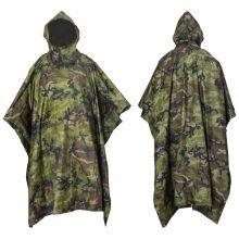Nitehawk Camouflage Waterproof Poncho