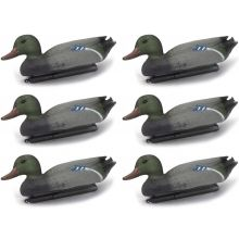 6 x Nitehawk Male Mallard Duck Decoys