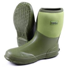 Michigan Green Neoprene Waterproof Outdoor Garden Wellington Boots