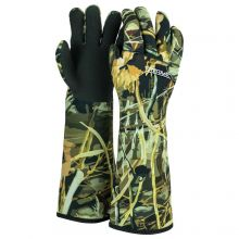 Nitehawk Neoprene Camo Waterproof Duck Wildfowling Decoy Gloves, Ultra Warm