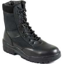 Nitehawk Black Army Patrol Boots - SIZE 3