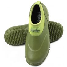 Michigan Green Neoprene Garden Boots Slip On Waterproof Outdoor Shoe