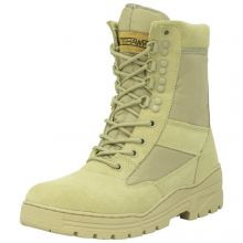 Nitehawk Army/Military Patrol Desert Leather Combat Boots Outdoor Cadet Security