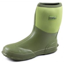 Michigan Garden Wellington Boot GREEN - SIZE 5