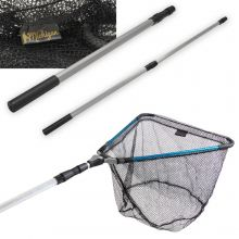 Michigan Folding Extending Telescopic 1.3 - 1.7m Fishing Landing Net Pike Carp