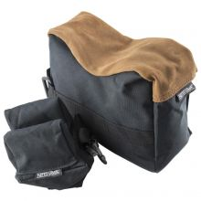 Nitehawk Black Rifle/Air Gun Front And Rear Rest Bench Bag Hunting Shooting