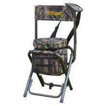 Nitehawk Camouflage Lightweight Hunting Shooters Hide Swivel Seat