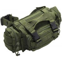 Nitehawk MOLLE Bum Bag/Waist Pack - OLIVE