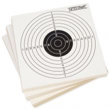 100 Piece 14cm Air Rifle/Airsoft Pistol Card Practice Pellet Trap Targets