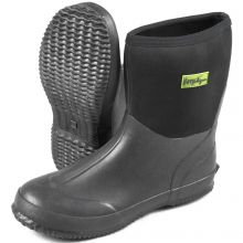 Michigan Neoprene Half Height Wellington Welly Boots BLACK