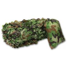 Nitehawk Camouflage Net with Carry Bag 7m x 1.5m