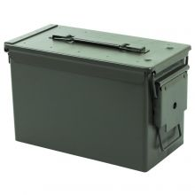 Nitehawk 50. Cal Metal Ammunition Surplus Storage Box