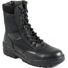 Nitehawk Black Army Patrol Boots - SIZE 8