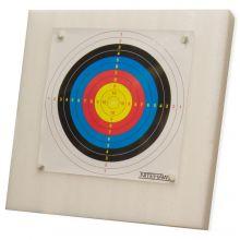 Nitehawk 60 x 60cm Foam Archery Target Board + 20 Paper Targets