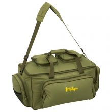Michigan Large Fishing Carryall Bag Insulated Olive Green Carp Tackle Storage